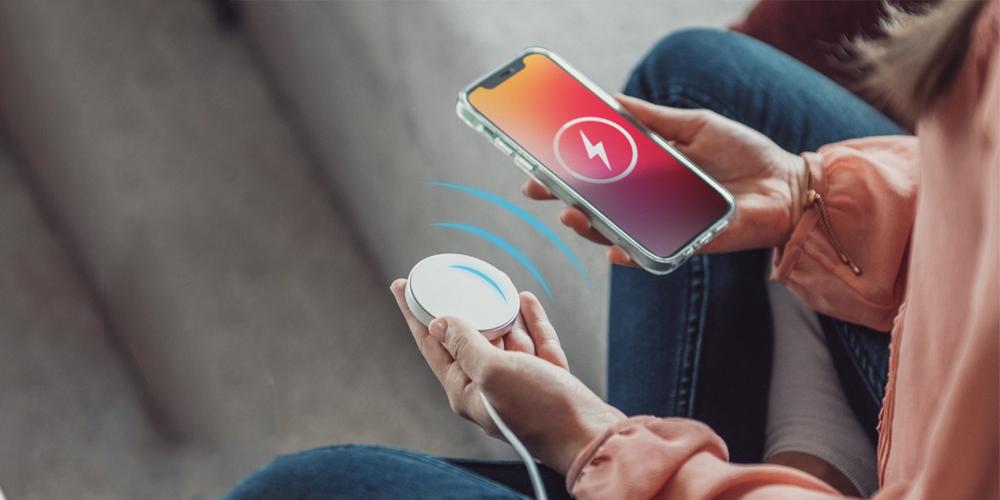 Vezeték nélküli töltő iPhone-hoz