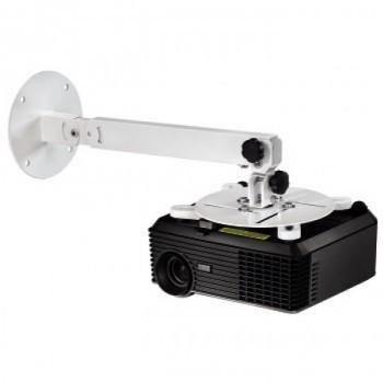 Állítható projektor fali/mennyezeti tartó, fehér