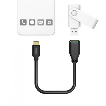 USB TYPE-C OTG ADAPTER, 0.15M