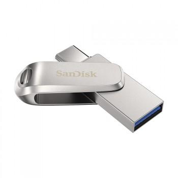 SANDISK DUAL DRIVE LUXE, TYPE-C™, USB 3.1 Gen 1, 256GB, 150MB/S