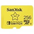 SANDISK microSDXC KÁRTYA NINTENDO SWITCH 256GB, 100MB/s, U3, C10, A1, UHS-1