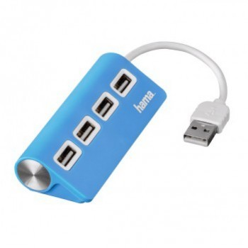 USB 2.0 HUB  (4 DB USB PORT) kék