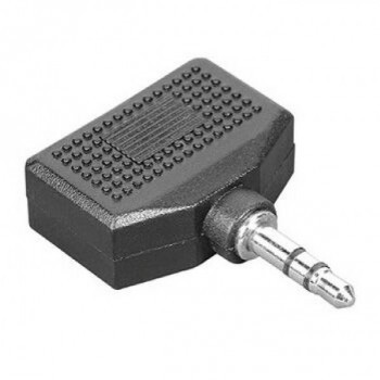 Audió adapter 2x3,5 mm Jack - 3,5 mm Jack
