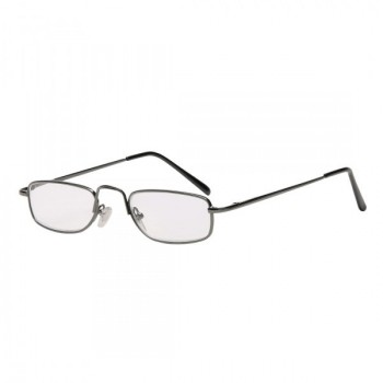 Olvasószemüveg, fém, +2 dpt