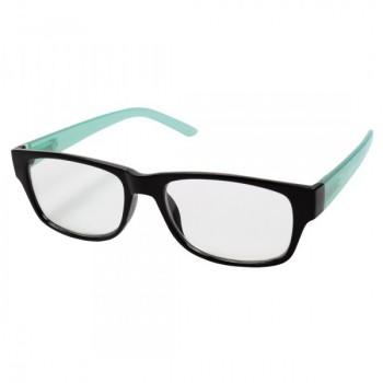 Olvasószemüveg, műanyag, +2 dpt, fekete/kék