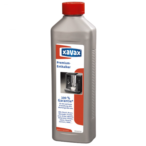 xavax Prémium vízkőoldó folyadék automata kávéfőzőkhöz, 500 ml