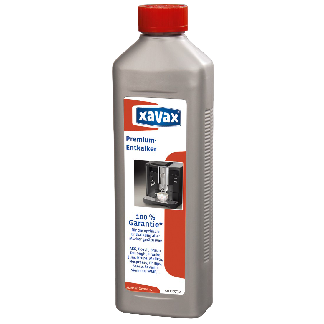 xavax Prémium vízkőoldó folyadék automata kávéfőzőkhöz, 500