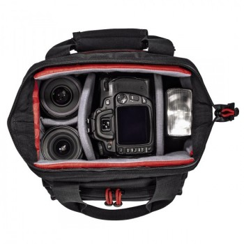 Multitrans 140 fotós táska, fekete