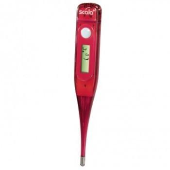 Scala digitális lázmérő, piros